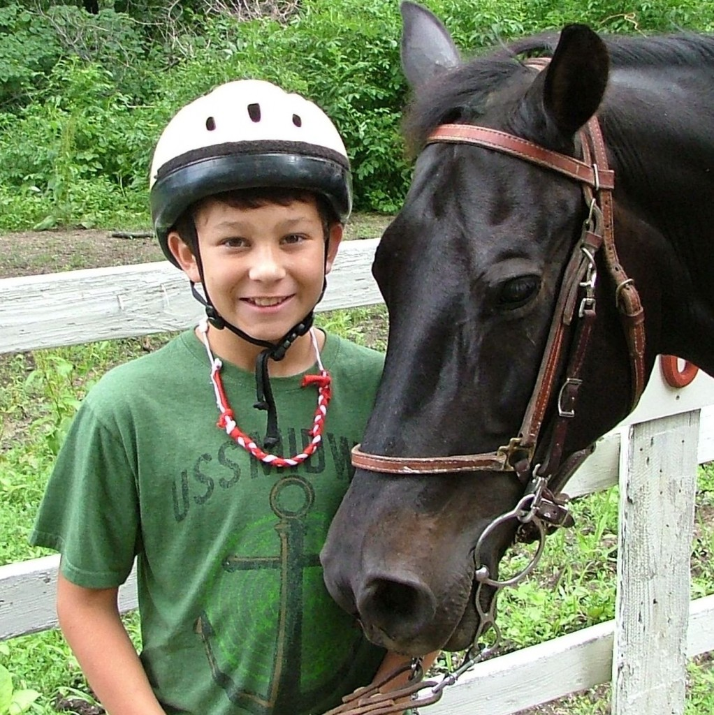 boy with horse - SQ