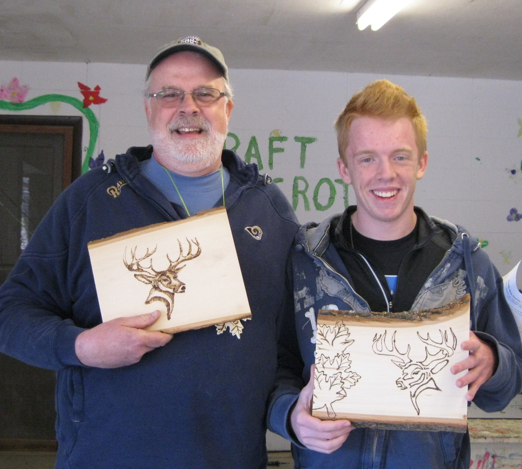 Bruce & Anders with art work - cr