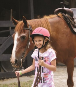 Leading Horse